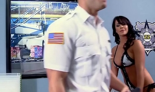 Brazzers - Baby Got Boobs -  Airport Secur-Titty scene starring Savannah Stern and Johnny Sins