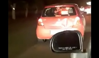 indian doing sex in running car delhi