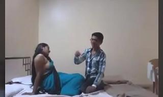 Indian Desi Girlfriend Enjoy Sex with Her Boyfriend with regard to Hotel