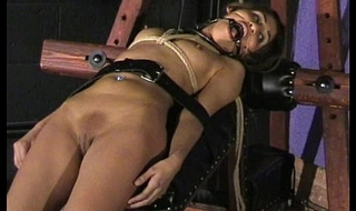 Sahara Knite humiliating face bondage and spanked indian bdsm slave in harsh