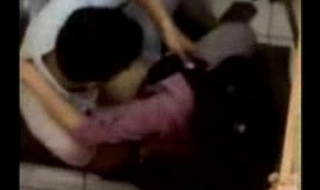 Couple caught on cam fucking in Cyber Cafe