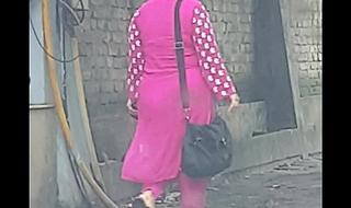 Bangladeshi street ass voyeur 2