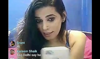 Delhi baby on show