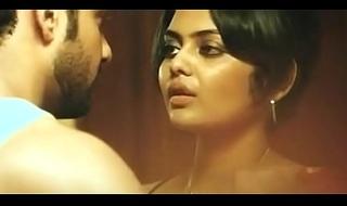Bengali Actress Saayoni Ghosh Hot Smooch and tongue sucking