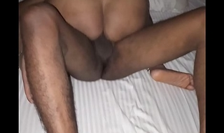 my wife having fun infront of me