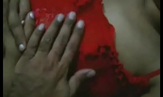 Indian Aunty Less Red Nighty Unmask Ready For Hot Dealings