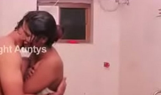 Hot South Indian Quarters Wife Bathroom Romance With Husbaroomnd