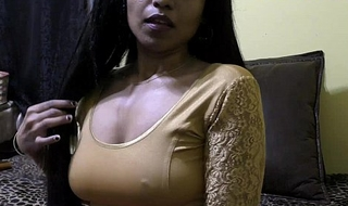 Sex-crazed lily - bhabhi roleplay thither hindi (diwali special)