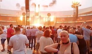 LIFADsub Flashing at Rammstein concert Rotterdam 2019 (Video Compilation)